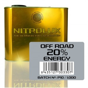 Nitrolux Off-Road 20% Energy 2,5L