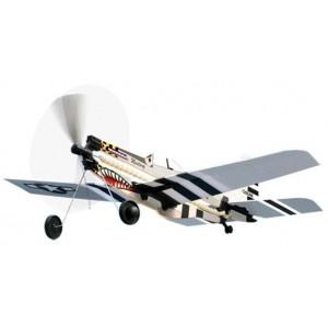 Avión Gomas Mustang P-51