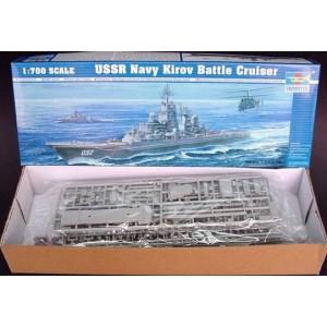 Maqueta USSR Navy Kirov Battle Cruiser 1:700