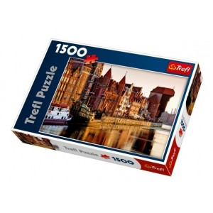 Puzzle 1500 Gdansk, Polonia