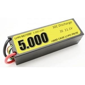 Batería Li-Po 3S 5000mAh 30C