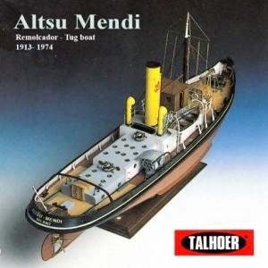 Barco Altsu Mendi Remolcador Talhoer