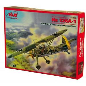 Maqueta Avión Hs 126A-1 1:48