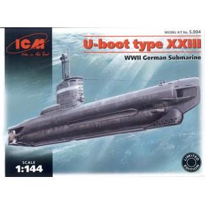 Maqueta U-Boat Type XXIII  1:144