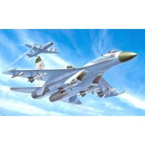 Maqueta Avión Russian Su-27 Early Type Fighter 1:72