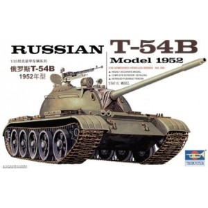 Maqueta Russian T-54B Model 1952 1:35