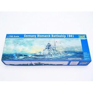 Maqueta Germany Bismark Battleship 1941 1:700
