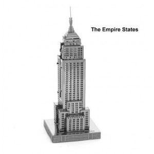 Empire State Building Metal 3D