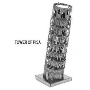 Torre de Pisa Metal 3D