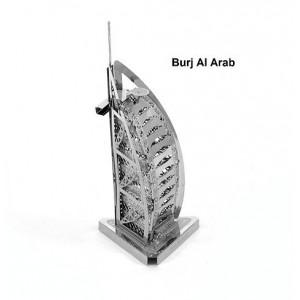 Burj Al Arab Dubai Metal 3D