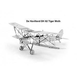DH82 De Havilland Tiger Moth Metal 3D