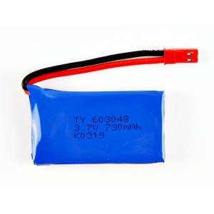 Batería Li-Po 1S 3.7V 730mAh