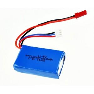 Batería Li-Po 2S 7.4V 850mAh