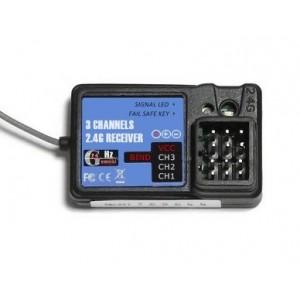 Receptor Emisora 2,4Ghz 3CH