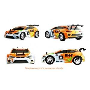 Carrocería Pintada Seat León 1:10 Rally Game