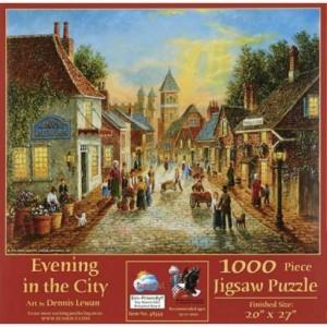 Puzzle 1000 Atardecer en la Ciudad