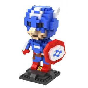 LOZ Figura Capitán América