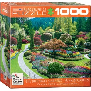 Puzzle 1000 The Butchart Gardens