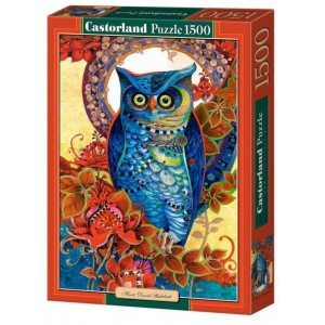 Puzzle 1500 Hoot, David Galchutt