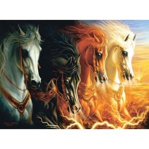 Puzzle 1500 Los 4 Caballos del Apocalipsis