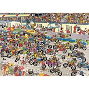 Puzzle 1000 Carrera de Motos