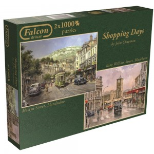 Puzzle 1000 x 2 Shopping Days