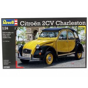 Maqueta Coche Citroen 2CV Charleston 1:24