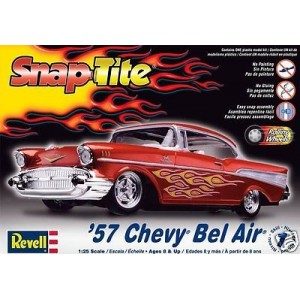 Maqueta Coche Chevy Bel Air ´57 1:25