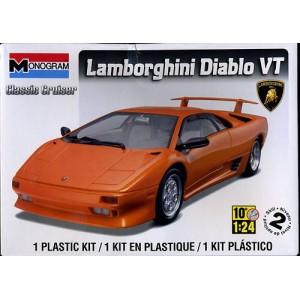 Maqueta Coche Lamborghini Diablo VT 1:24