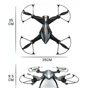 Cuadricóptero Z1 2.4Ghz con Cámara