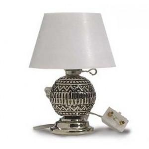 Lámpara Sobremesa Plata