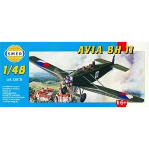 Maqueta Avión Avia BH 11 1:48