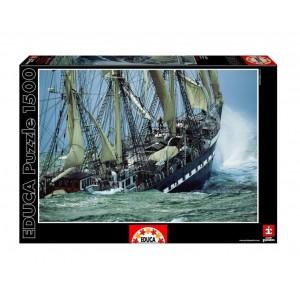 Puzzle 1500 - Barco Belem