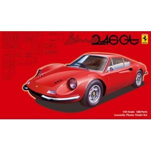 Maqueta Ferrari Dino 246GT 1:24