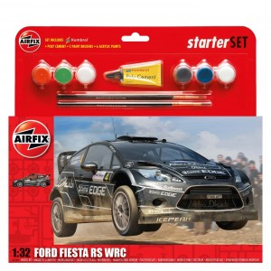 Maqueta Ford Fiesta WRC Starter Set 1:32