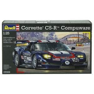 Maqueta Corvette C5-R Compuware 1:25