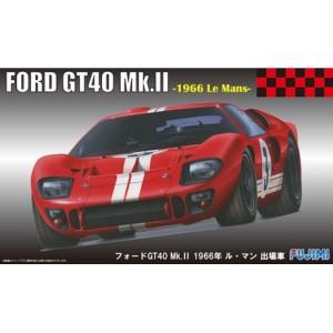 Maqueta Ford GT40 Mk.II Le Mans 1966 1:24