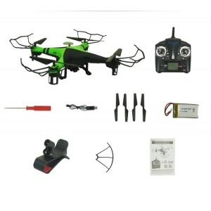 Cuadricóptero FPV Altitude Wifi Cámera 2.4Ghz RTF
