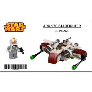 ARC-170 Starfighter Star Wars Microfighters Blocks