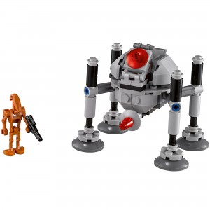 Homing Spider Droid Star Wars Microfighters Blocks