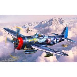 Maqueta Avión P-47 Thunderbolt 1:72
