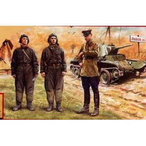 Figuras Tripulación Tanques Soviéticos (1939-1942)