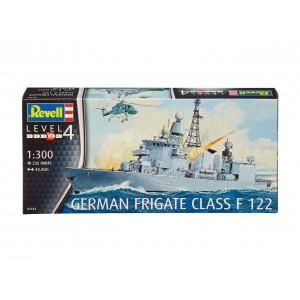 Maqueta Barco German Frigate Class F122 1:300