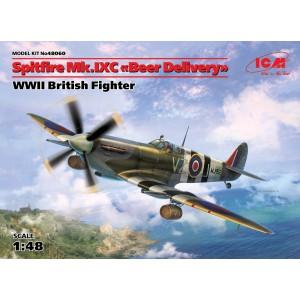"""Maqueta Avión Spitfire Mk.IXC """"Beer Delivery"""" 1:48"""