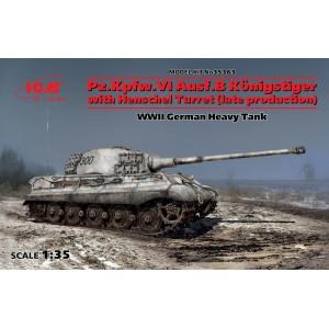 Maqueta Tanque Pz.Kpfw.VI Ausf.B Königstiger with Henschel Turret 1:35