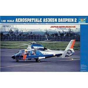 Maqueta Aerospatiale AS365N Dauphin2 1:48