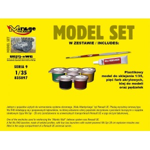 Maqueta Tanque Kit UE(f)-sWG Self-propelled 1:35