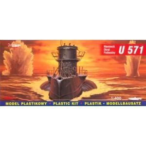 Maqueta Submarino German U-Boot U-571 1:400