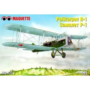 Maqueta Avión Polikarpov R-1 - Maquette 1:72