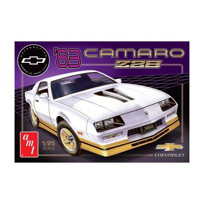 Maqueta Chevy Camaro ´83 Z-28 1:25 AMT
